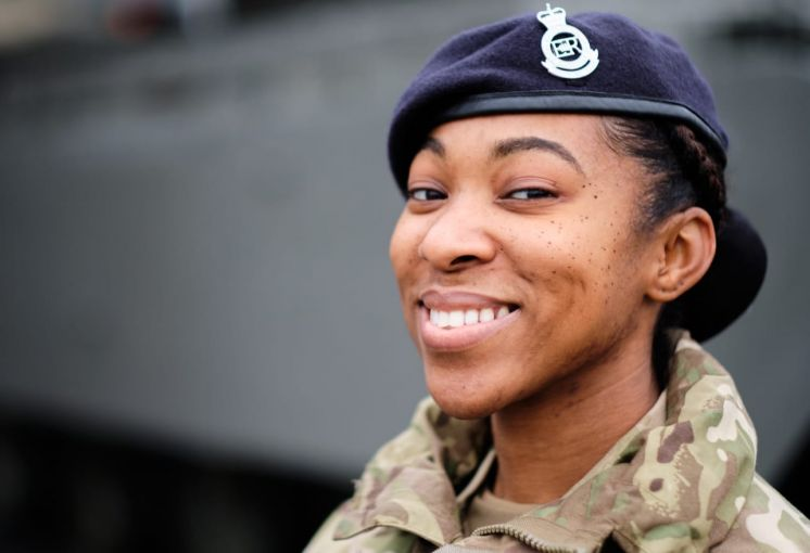 First RBR Woman Passes Out of Sandhurst