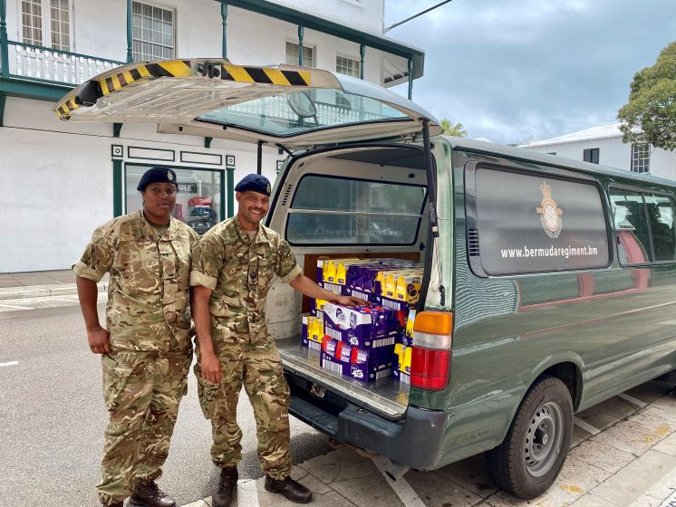 Easter Eggs Donated To Soldiers