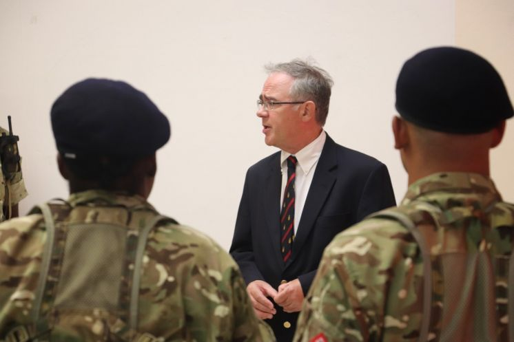 Governor Visits Summer Recruits at RBR