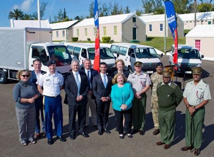 Royal Bermuda Regiment New Vehicles