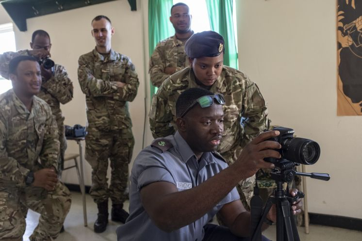 RBR Host Joint Forces Media and IO Training
