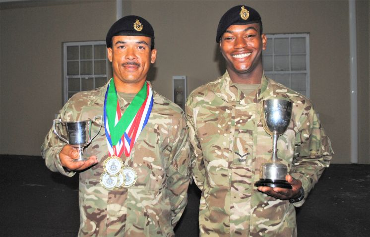New RBR Soldiers Celebrate Successful Recruit Camp