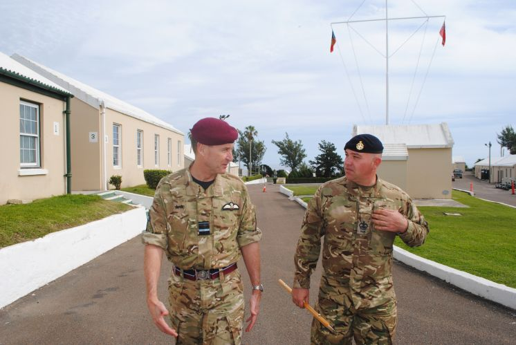UK Defence Attache to USA Visits RBR