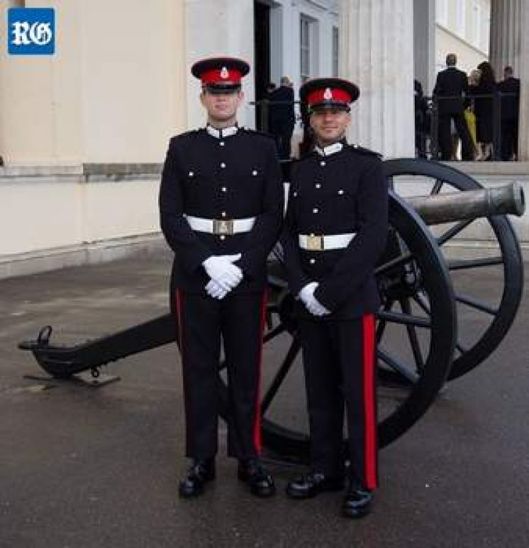 RBR Cadets Pass Sandhurst College Course